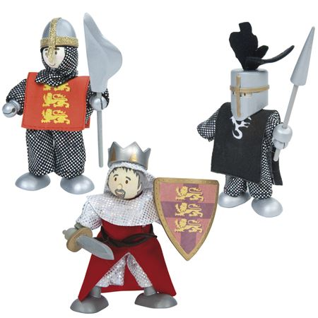 Picture of Budkins - Medieval Knights Trio