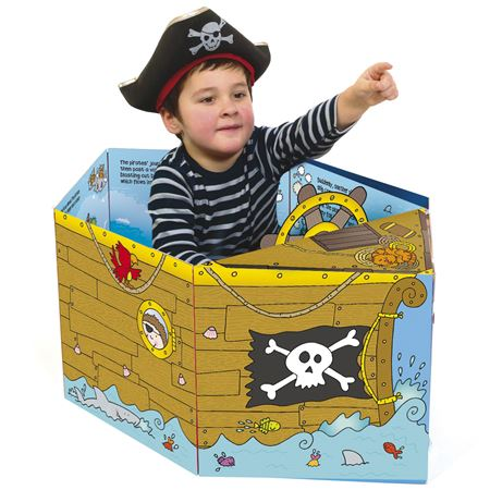 Picture of Convertible Book - Pirate Ship