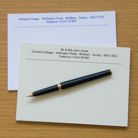 Picture of Correspondence Cards x 200
