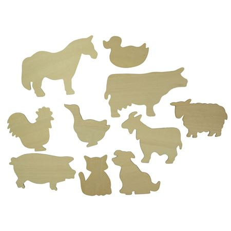 Picture of Drawing Templates - Farm Animals