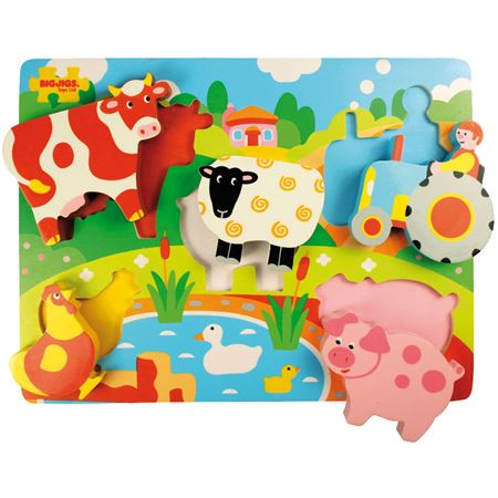 Picture of Toddler Lift Out Puzzle - Farm