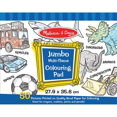 Picture of Jumbo Pads - Blue