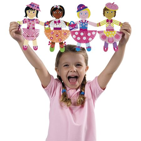Picture of Paper Chain Dolls
