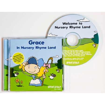 Picture of Personalised CD - Nursery Rhyme Land