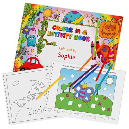 Picture of Personalised Colouring-In Activity Book