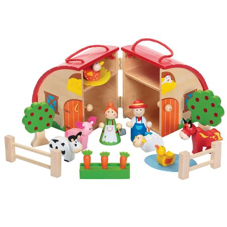 Picture of Red Barn Playset