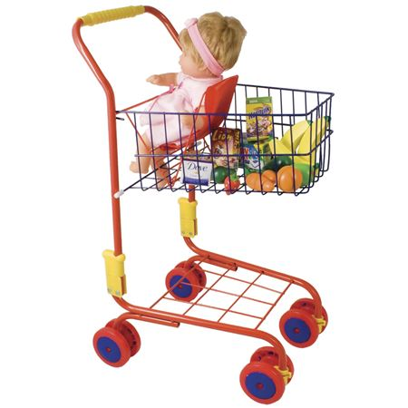 Picture of Shopping Trolley - Red