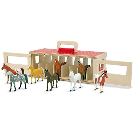 Picture of Show Horses & Stable