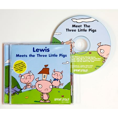 Picture of Personalised Storytime CD - 3 Little Pigs