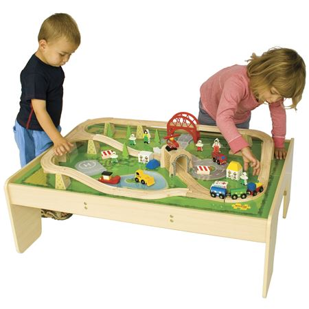 Picture of Train Set & Table