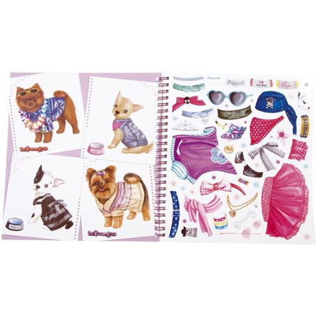 Picture of Design & Dress A Dog Colouring Book