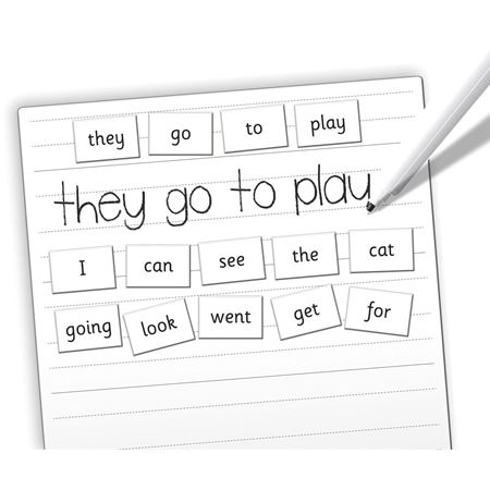 Picture of Magnetic Reception Words & Board