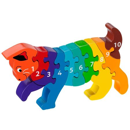 Picture of Cat 1-10 Number Puzzle