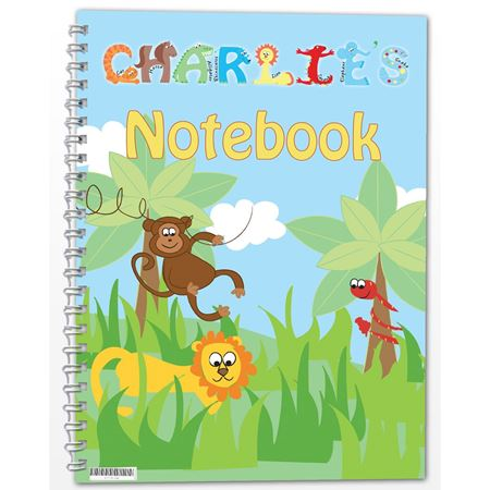 Picture of Animals Notebook - Personalised
