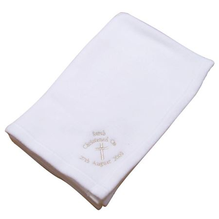 Picture of Christening Cross Blanket