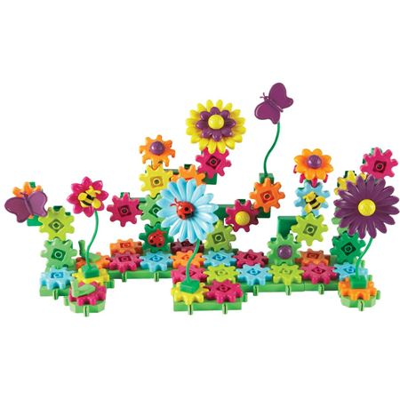 Picture of Build & Bloom Flower Garden Gears Set