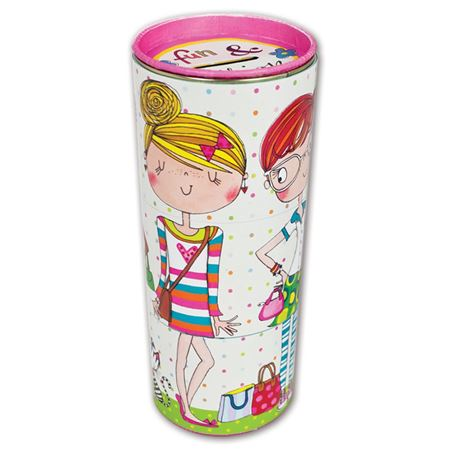 Picture of Tiered Swivel Money Tin - Fun & Fashion