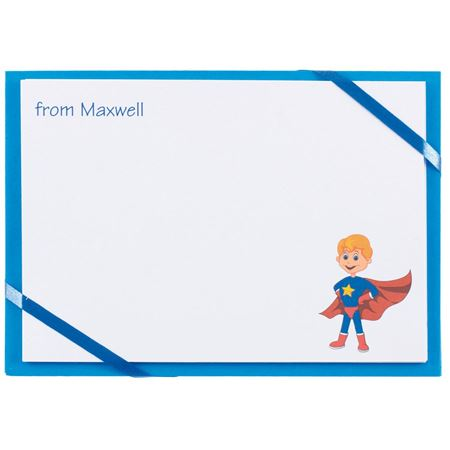 Picture of Named Cards - Super Hero