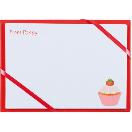 Picture of Named Cards - Cupcake