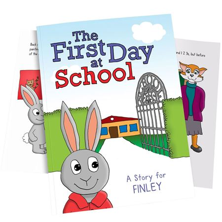 Picture of First Day at School Personalised Book