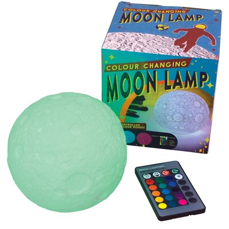 Picture of Colour Changing Moon Lamp