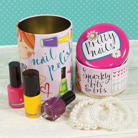 Picture of Pretty Nails Stacking Tin