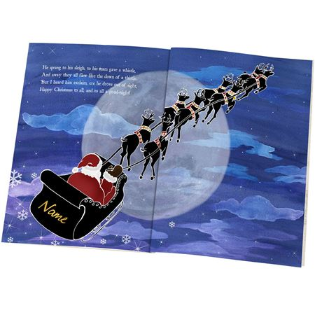 Picture of T'was the Night Before Christmas Personalised Book