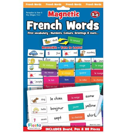 Picture of Magnetic French Words