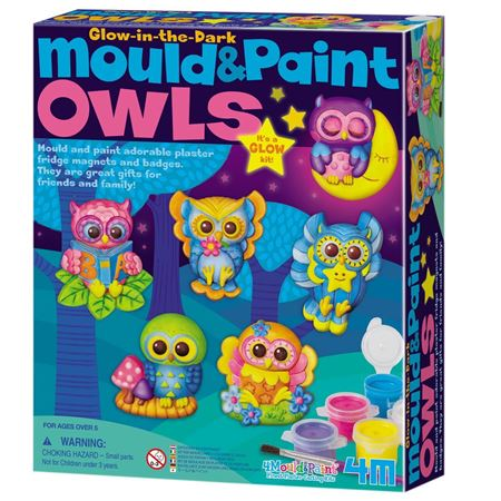 Picture of Mould and Paint Glow Owls