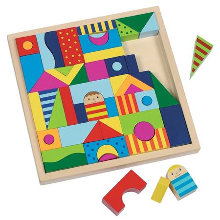 Picture of Puzzle and Building Block Tray