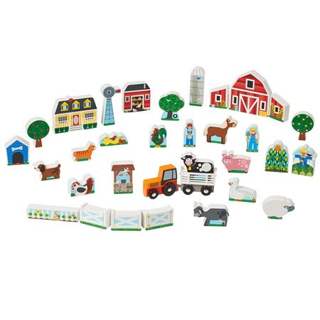 Picture of Farm & Tractor Play Set