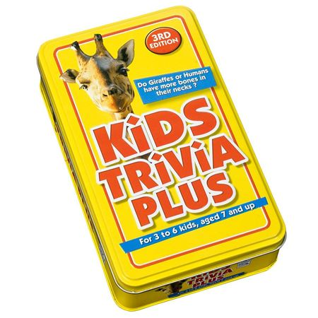 Picture of Kids Trivia Plus 3rd Edition