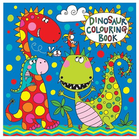 Picture of Dinosaur Colouring Book