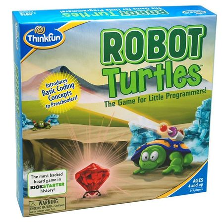Picture of Robot Turtles Coding