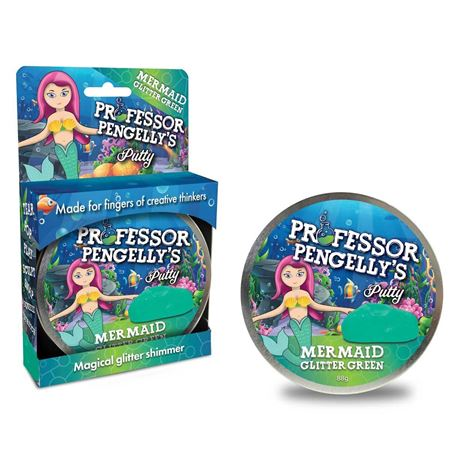 Picture of Mermaid Glitter Green Putty