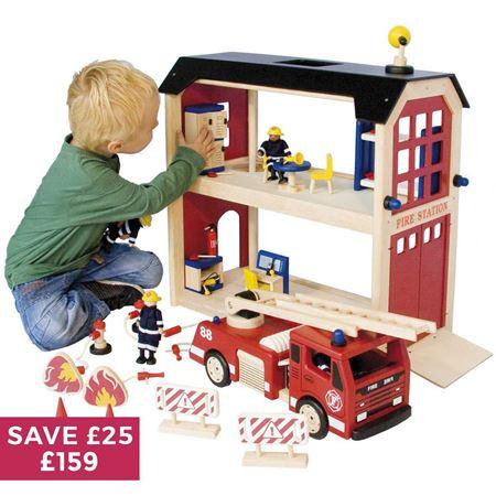 Buy Fire Station Set Shop Every Store On The Internet Via Pricepi