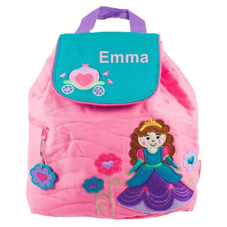Picture of Personalised Princess Quilted Backpack