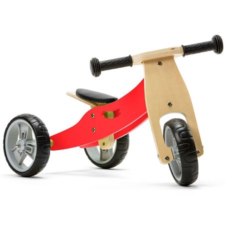 Picture of 2 in 1 Bike - Red (Tricycle / Balance Bike)
