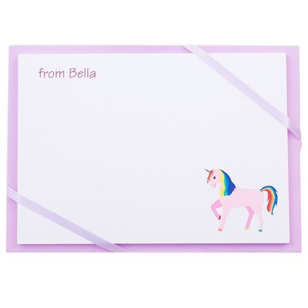 Picture of Named Cards - Unicorn