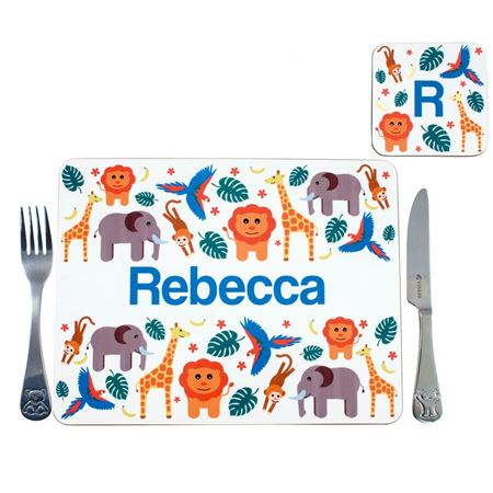 Picture of Placemat - Jungle Animals