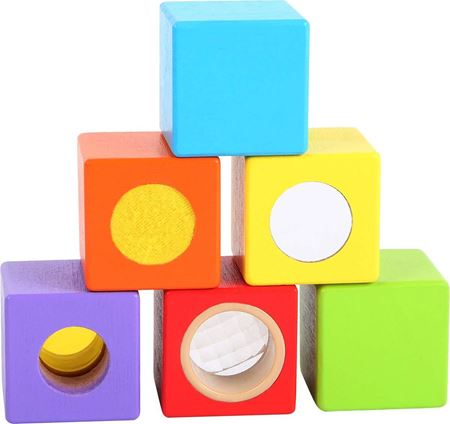 Picture of Wooden Sound & Colour Building Blocks