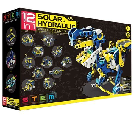 Picture of 12 in 1 Solar Hydraulic Construction Kit