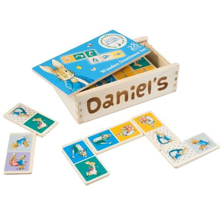 Picture of Peter Rabbit Wooden Dominoes