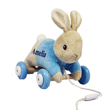 Picture of Peter Rabbit Personalised Pull Along Toy