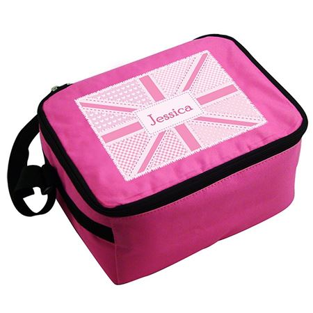 Picture of Lunch Bag - Pink Patchwork Union Jack
