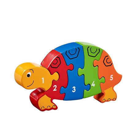 Picture of Tortoise 1 - 5 Number Puzzle