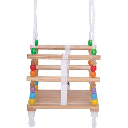Picture of Wooden Toddler Cradle Swing