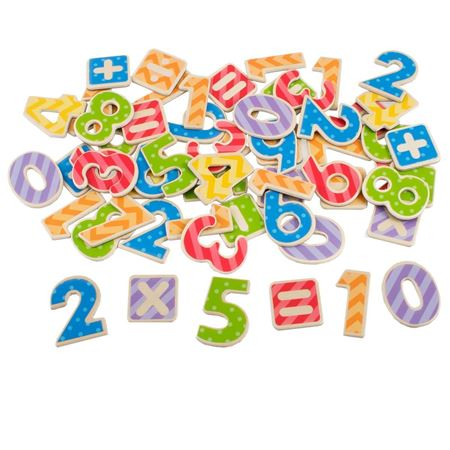 Picture of Magnetic Wooden Numbers - SECONDS