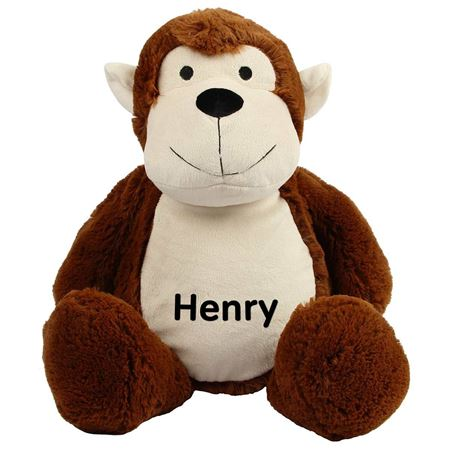 Picture of Personalised Monkey Soft Toy