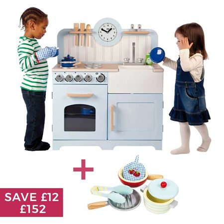 Picture of Country Play Kitchen & Pans Bundle